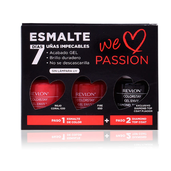 Set dei Manicure We Love Passion Revlon (3 pcs)