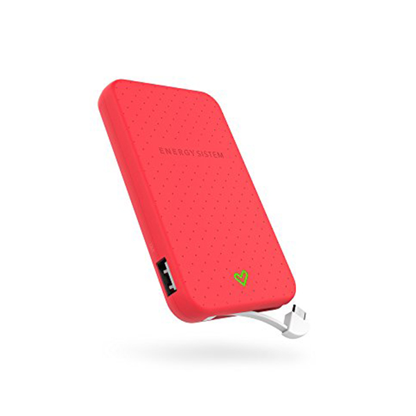 Power Bank Energy Sistem AATBPT0149 424580 5000 mAh Coral