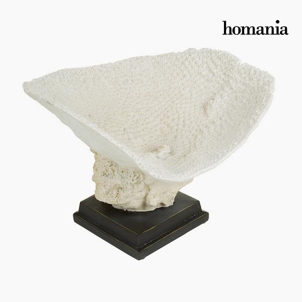 Centrotavola Resina Beige (37 x 33,5 x 25,5 cm) by Homania