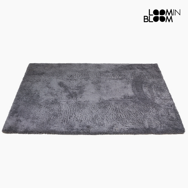 Tappeto Poliestere Grigio (170 x 240 x 8 cm) by Loom In Bloom