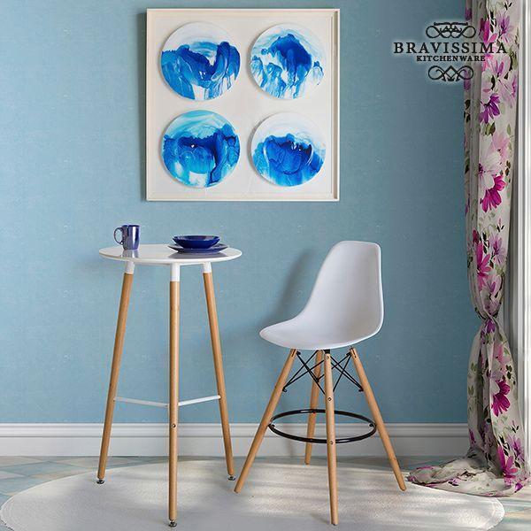 Vajilla (19 pcs) Loza Azul marino - Colección Kitchen's Deco by Bravissima Kitchen (1)