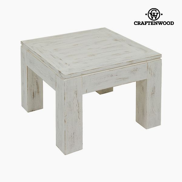 Mesa Auxiliar Madera de mindi (60 x 60 x 40 cm) - Colección Winter by Craftenwood
