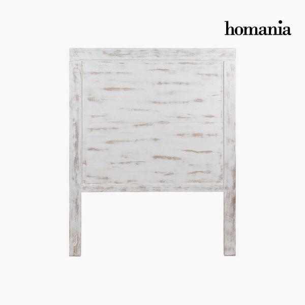 Cabecero de Cama Madera de mindi (115 x 3 x 145 cm) - Colección Pure White by Homania