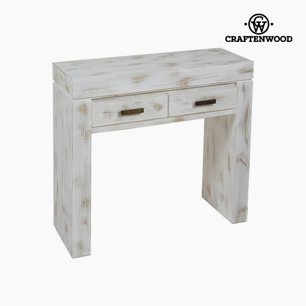 Consola Madera de mindi (84 x 30 x 76 cm) - Colección Natural by Craftenwood
