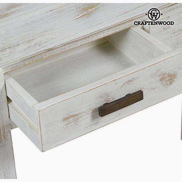 Consola Madera de mindi (84 x 30 x 76 cm) - Colección Natural by Craftenwood (2)