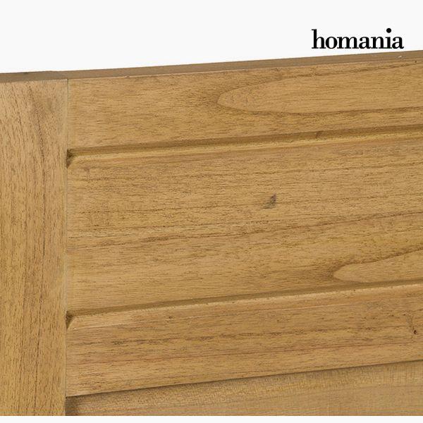 Cabecero de Cama Madera de mindi (100 x 3 x 120 cm) - Colección Serious Line by Homania (1)