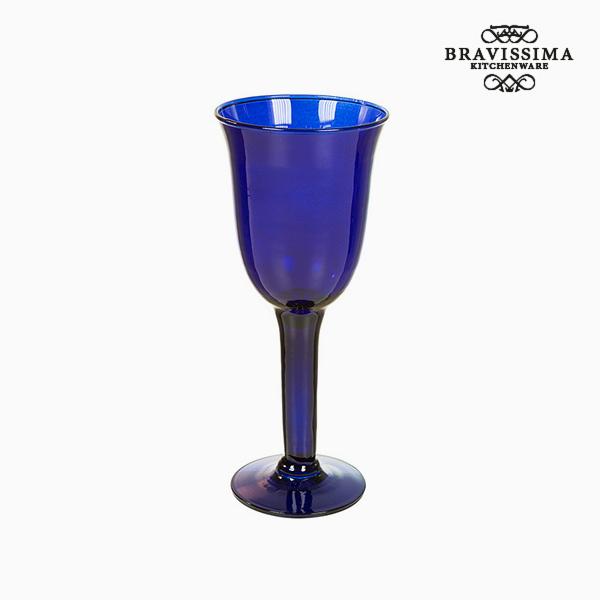 Copas de Vidrio Reciclado (6 pcs) 350 ml Azul - Colección Crystal Colours Kitchen by Bravissima Kitchen (2)