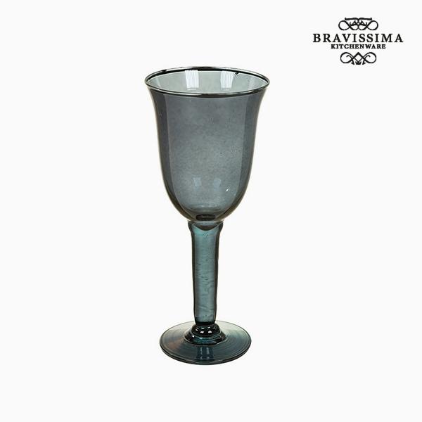 Copas de Vidrio Reciclado (6 pcs) 500 ml Gris - Colección Crystal Colours Kitchen by Bravissima Kitchen (2)