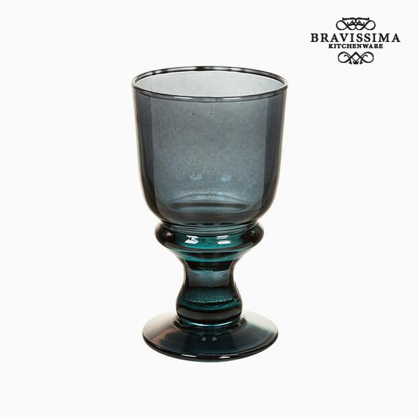 Copas de Vidrio Reciclado (6 pcs) 250 ml Gris - Colección Crystal Colours Kitchen by Bravissima Kitchen (2)