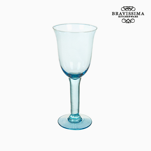 Copas de Vidrio Reciclado (6 pcs) 500 ml Azul - Colección Crystal Colours Kitchen by Bravissima Kitchen (2)