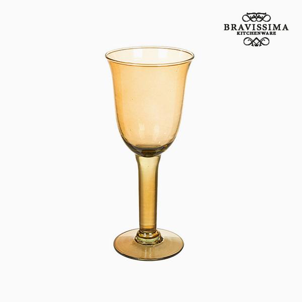 Copas de Vidrio Reciclado (6 pcs) 500 ml Amarillo - Colección Crystal Colours Kitchen by Bravissima Kitchen (2)
