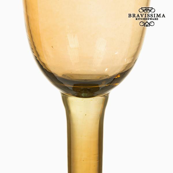 Copas de Vidrio Reciclado (6 pcs) 500 ml Amarillo - Colección Crystal Colours Kitchen by Bravissima Kitchen (1)