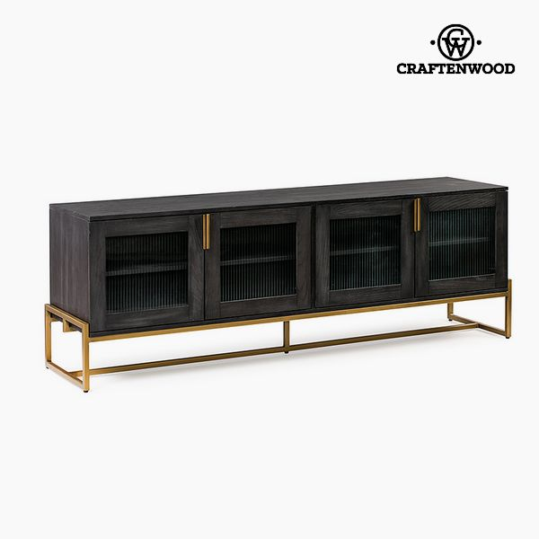 Mesa para Televisión Madera de roble (184 x 45 x 64 cm) by Craftenwood