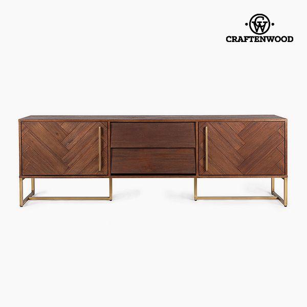 Mesa para Televisión Mdf Madera de acacia (180 x 45 x 60 cm) by Craftenwood