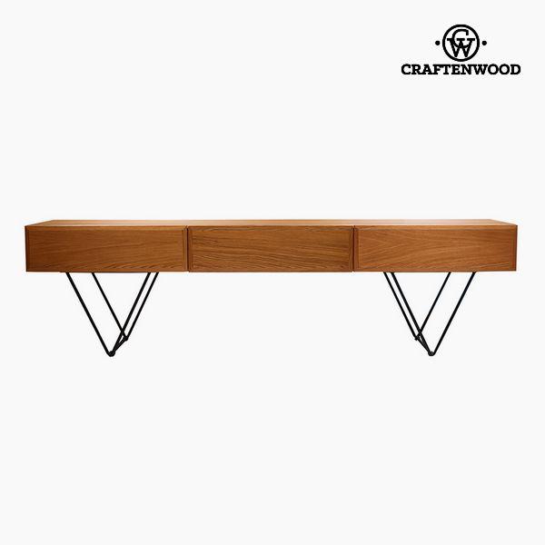 Mesa para Televisión Nogal Mdf (200 x 40 x 55 cm) by Craftenwood