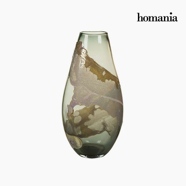 Vaso Geam (24 x 16 x 45 cm) - Pure Crystal Deco Collezione by Homania