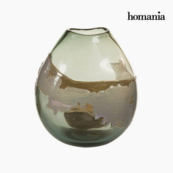 Vaso Geam (24 x 15 x 26 cm) - Pure Crystal Deco Collezione by Homania