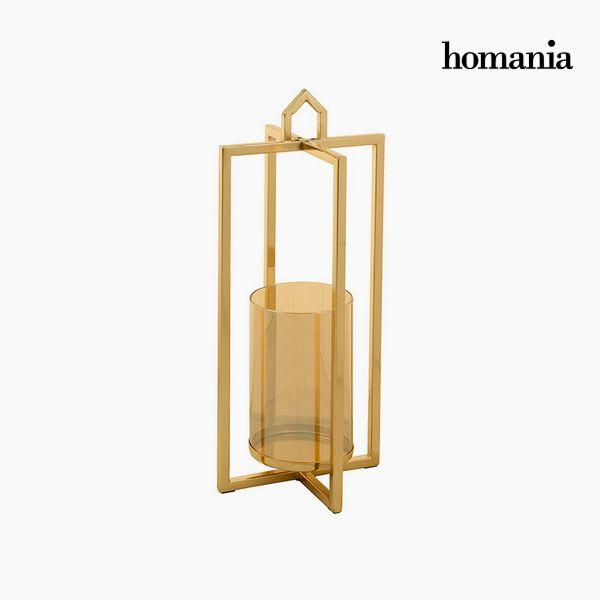 Candelabro Dorado - Colección Queen Deco by Homania