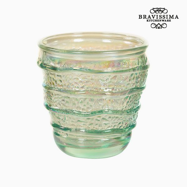 Vaso de Vidrio Reciclado (9 x 9 x 9 cm) by Bravissima Kitchen