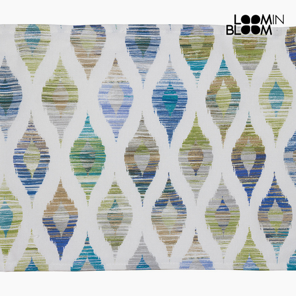 Tovaglia Azzurro (30 x 45 x 0,05 cm) by Loom In Bloom