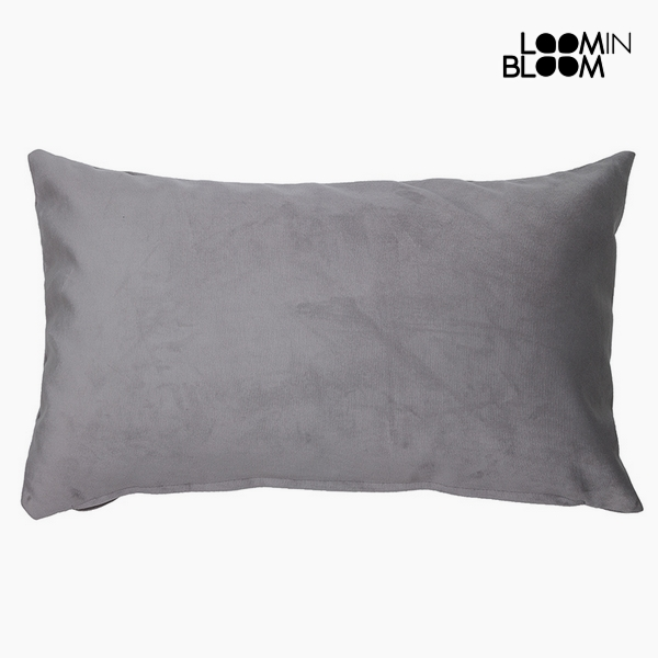 Cuscino Poliestere Grigio (30 x 50 x 10 cm) by Loom In Bloom