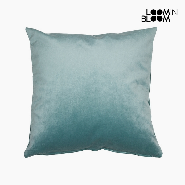 Cuscino Poliestere Verde (45 x 45 x 10 cm) by Loom In Bloom