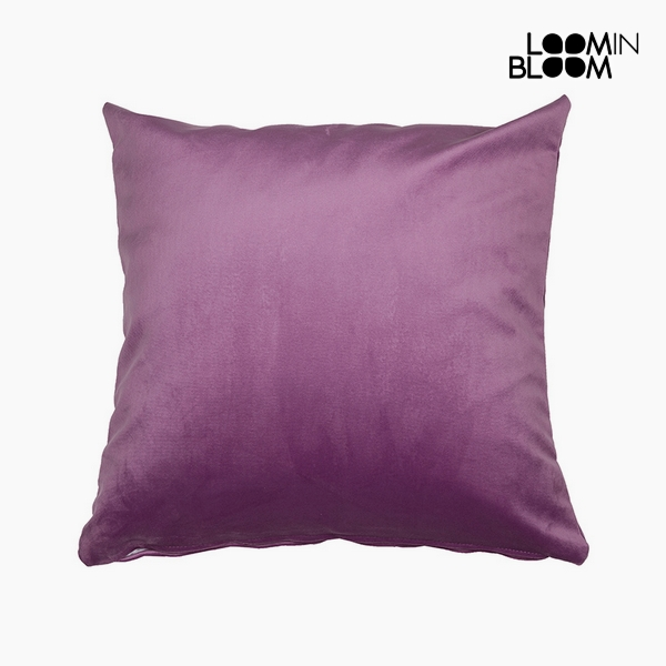 Cuscino Poliestere Rosa (45 x 45 x 10 cm) by Loom In Bloom