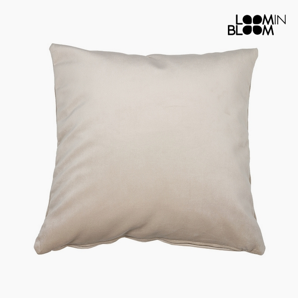 Cuscino Poliestere Beige (45 x 45 x 10 cm) by Loom In Bloom