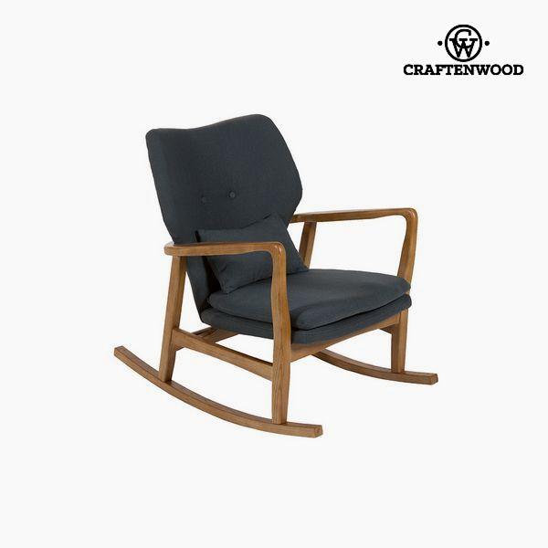 Sedia a Dondolo Legno di olmo (88 x 53 x 54 cm) by Craftenwood