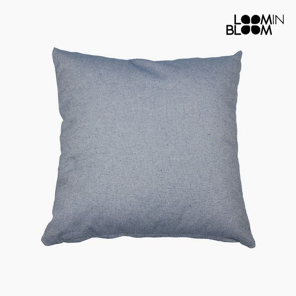 Cuscino Cotone e poliestere Azzurro (60 x 60 x 10 cm) by Loom In Bloom