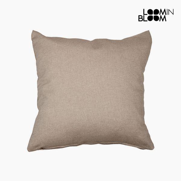 Cuscino Cotone e poliestere Marrone (60 x 60 x 10 cm) by Loom In Bloom