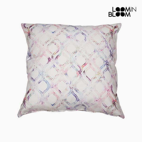 Cuscino Cotone Rosa (45 x 45 x 10 cm) by Loom In Bloom