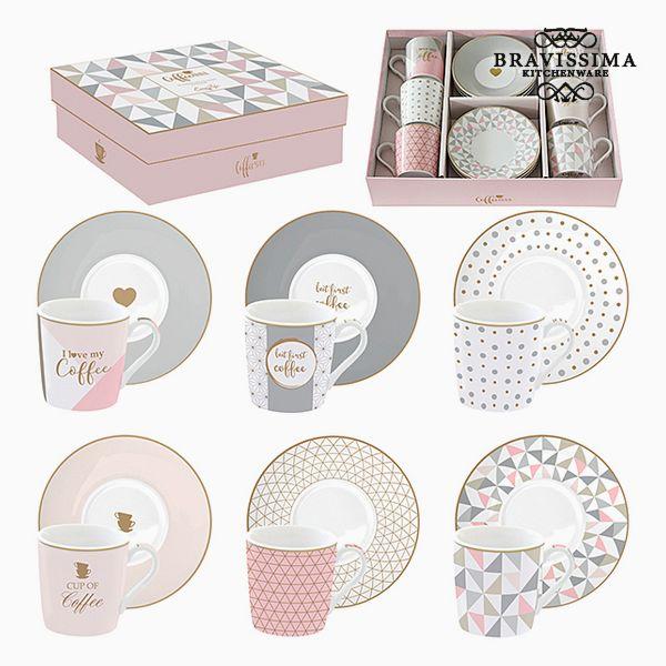 Set di Tazze Porțelan Rosa (6 pcs) by Bravissima Kitchen