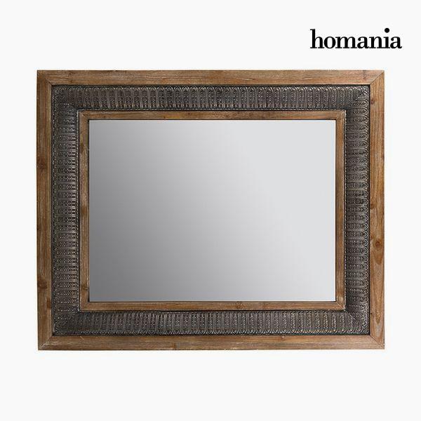 Espejo Cuadrado Bronce Plata - Colección Vintage by Homania (2)