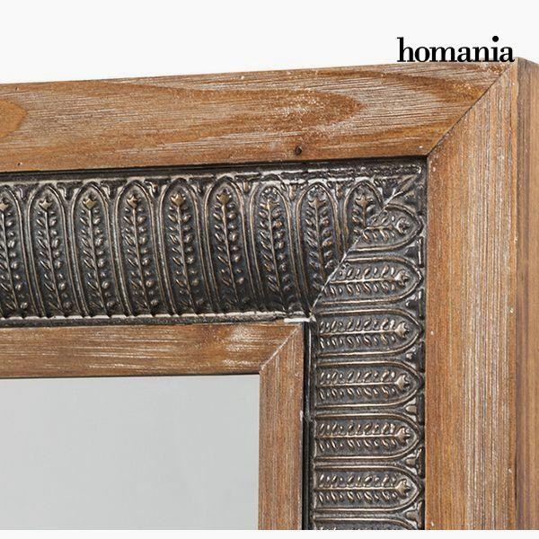 Espejo Cuadrado Bronce Plata - Colección Vintage by Homania (1)