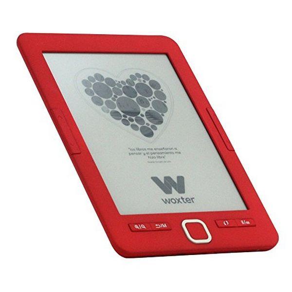 """eBook Woxter SCRIBA 195 6"""" 4 GB Rojo"""