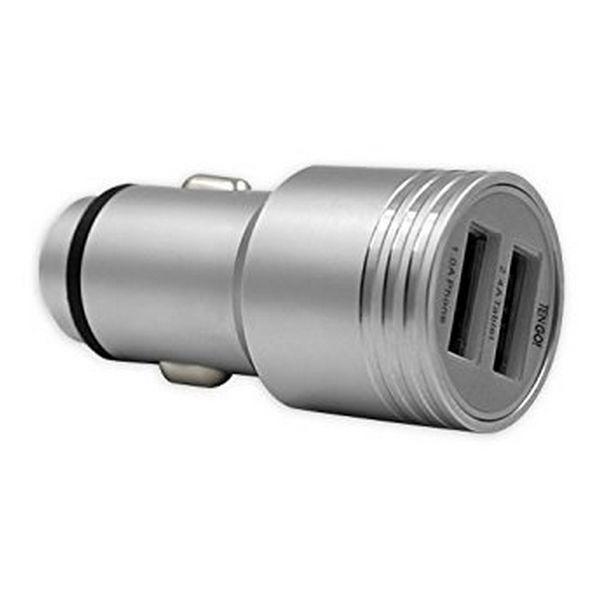 Cargador de Coche TenGO! RT3115BT 2 USB Metal