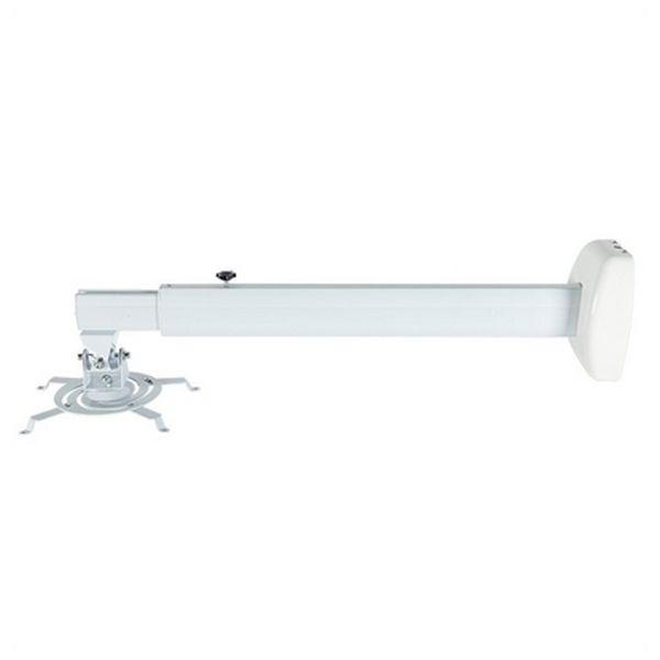 Supporto Estensibile da Parete per Proiettore iggual SPP01-M IGG314517 -42 - 42° Alluminio Bianco
