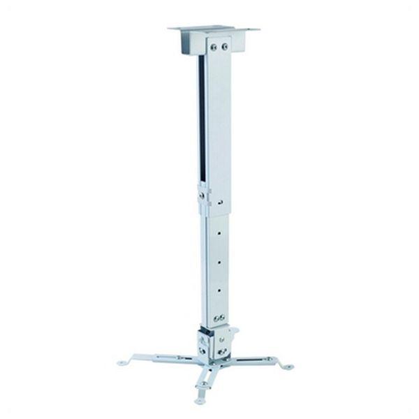 Supporto da Soffitto Inclinabile e Girevole per Proiettore iggual STP02-S IGG314579 -22,5 - 22,5° -15 - 15° Alluminio Bi