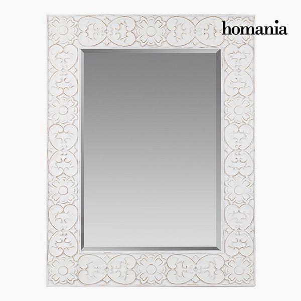 Espejo Cuadrado Blanco - Colección Pure White by Homania