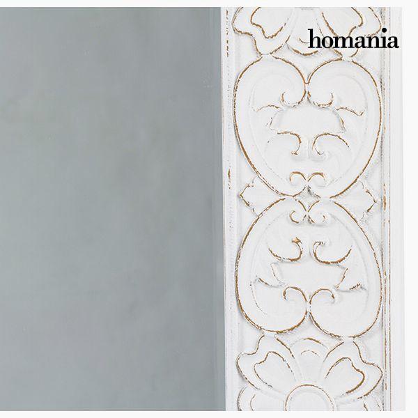 Espejo Cuadrado Blanco - Colección Pure White by Homania (1)