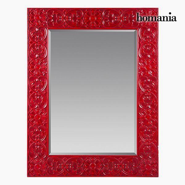 Espejo Cuadrado Rojo - Colección Be Yourself by Homania