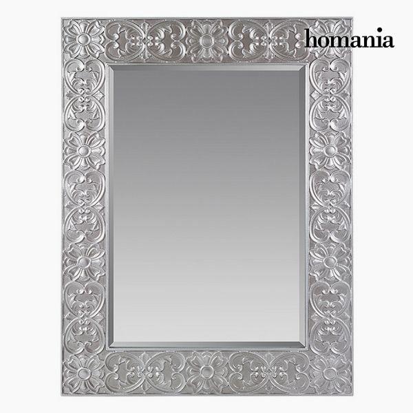 Espejo Cuadrado Plata - Colección Queen Deco by Homania