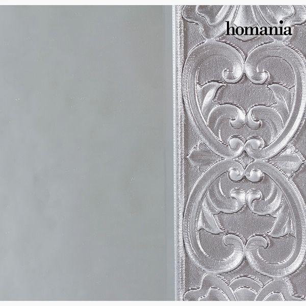 Espejo Cuadrado Plata - Colección Queen Deco by Homania (1)