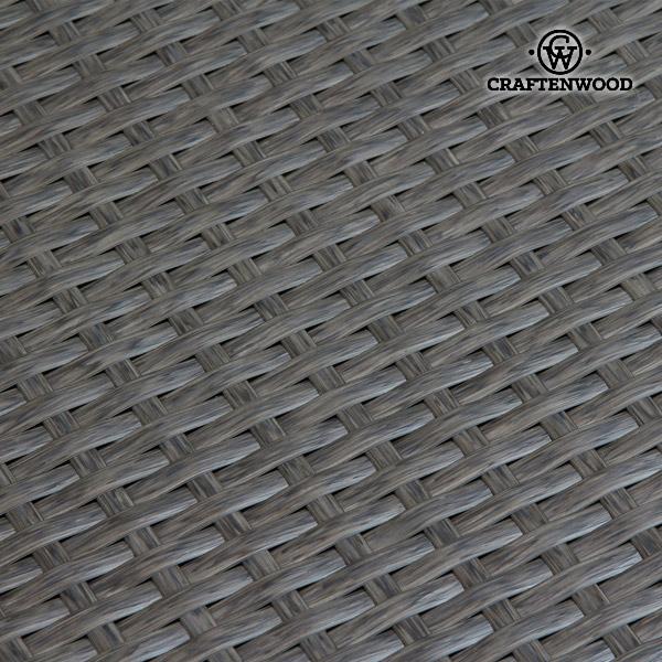 Conjunto de Sofá y Mesa (200 x 87 x 61 cm) Ratán Beige Marrón by Craftenwood (2)