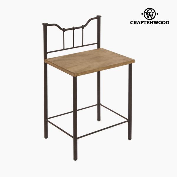 Comodino Legno Forjare Nero - Perfect Collezione by Craftenwood