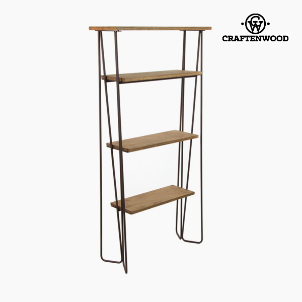Scaffale Brad Forjare Neagră - Thunder Collezione by Craftenwood