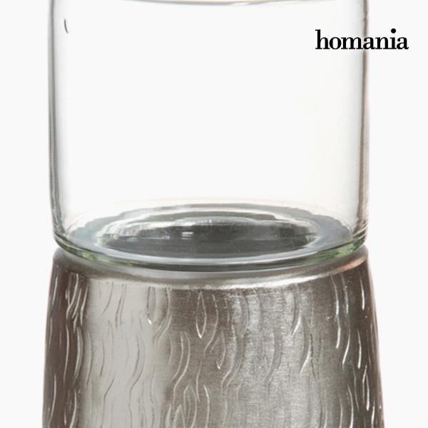 Candelabro Estaño Plata - Colección New York by Homania (1)