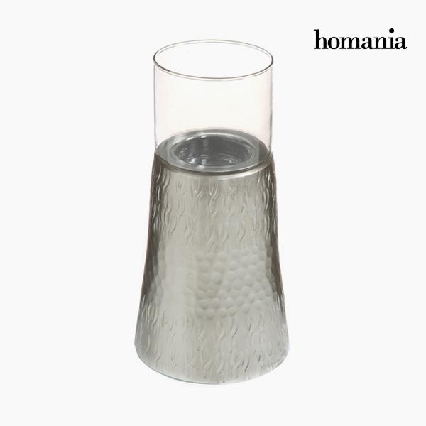 Candelabro Estaño Plata - Colección New York by Homania