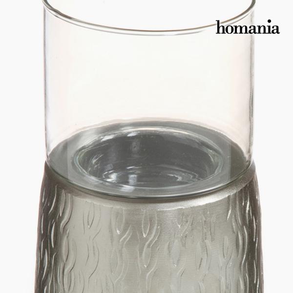 Candelabro Estaño Plata - Colección New York by Homania (2)